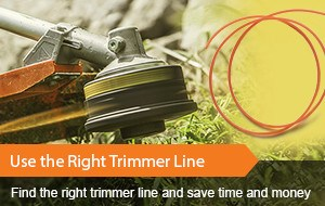 Find the right trimmer line